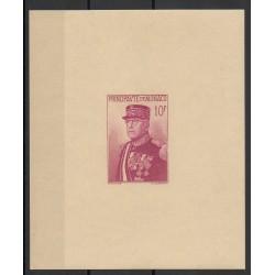 Monaco - Blocs et feuillets - 1938 - No BF 1 - Neuf sans charnière - papier crème