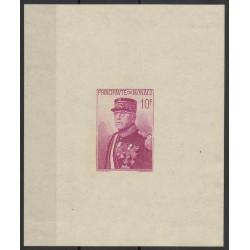 Monaco - Blocs et feuillets - 1938 - No BF 1 - Neuf avec charnière - papier blanc
