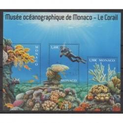 Monaco - 2020 - No 3237/3239 - Vie marine