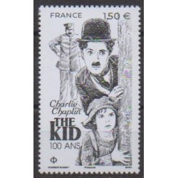 France - Poste - 2021 - Nb 5473 - Cinema - Charlie Chaplin