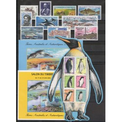 French Southern and Antarctic Territories - Complete year - 2006 - Nb 435/452 - BF 14/ BF 16