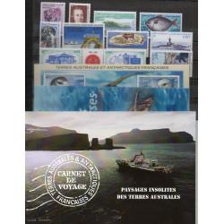 Timbres - Terres Australes et Antarctiques Françaises - Année complète - 2007 - No 453/493 - BF 17/BF18 - carnet voyage