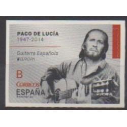 Espagne - 2014 - No 4583 - Musique - Europa