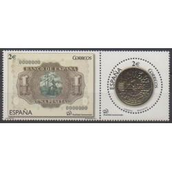 Espagne - 2014 - No 4631/4632 - Monnaies, billets ou médailles