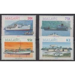 Malawi - 1994 - No 638/641 - Navigation