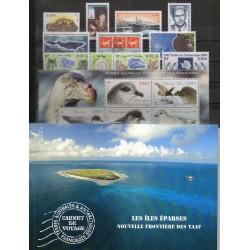 Timbres - Terres Australes et Antarctiques Françaises - Année complète - 2009 - No 521/551 - BF 22 - carnet voyage