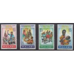 Malawi - 1996 - No 662/665 - Noël