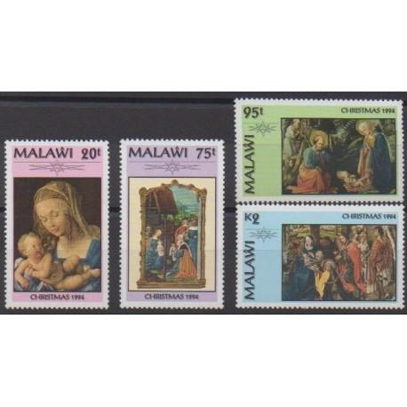 Malawi - 1994 - No 642/645 - Noël