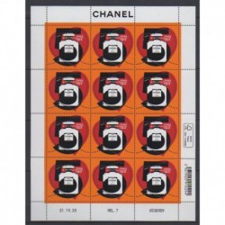 France - Feuillets de France - 2021 - Nb F12 - Chanel n°5 - Fashion
