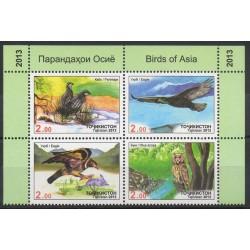 Tadjikistan - 2013- No 488A/488D - Oiseaux