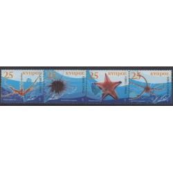 Cyprus - 2007 - Nb 1099/1102 - Sea life