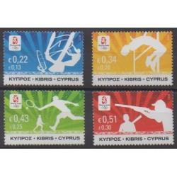 Chypre - 2008 - No 1142/1145 - Jeux Olympiques d'été
