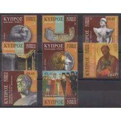 Chypre - 2008 - No 1146/1153 - Histoire