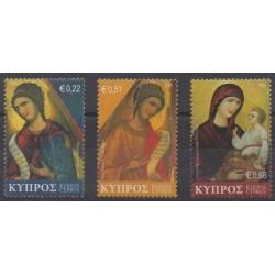 Chypre - 2008 - No 1154/1156 - Noël