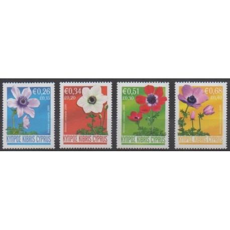 Chypre - 2008 - No 1135/1138 - Fleurs