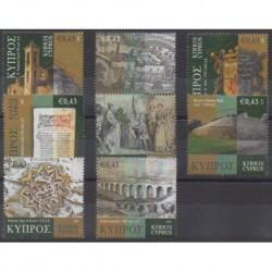 Chypre - 2009 - No 1173/1180 - Histoire