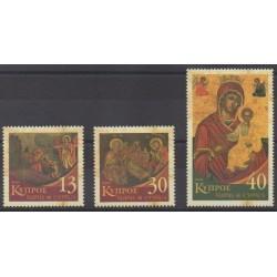 Chypre - 2005 - No 1073/1075 - Noël
