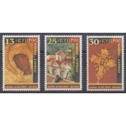 Cyprus - 2001 - Nb 991/993 - Christmas