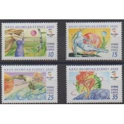 Chypre - 2000 - No 974/977 - Jeux Olympiques d'été