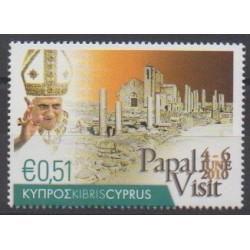 Cyprus - 2010 - Nb 1197 - Pope