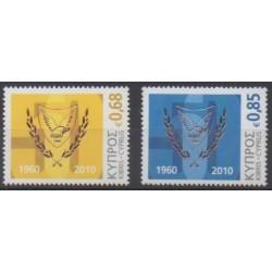 Chypre - 2010 - No 1185/1186 - Histoire