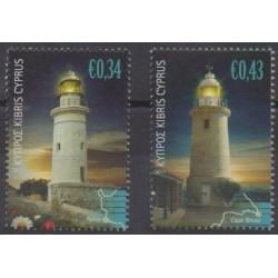 Cyprus - 2011 - Nb 1221/1222 - Lighthouses