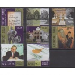 Chypre - 2010 - No 1200/1207 - Histoire