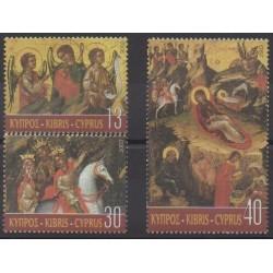 Cyprus - 2003 - Nb 1036/1038 - Christmas