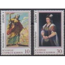 Cyprus - 1996 - Nb 879/880 - Celebrities - Europa