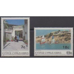 Cyprus - 1986 - Nb 657/658 - Tourism