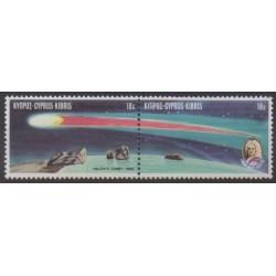 Cyprus - 1986 - Nb 660/661 - Astronomy