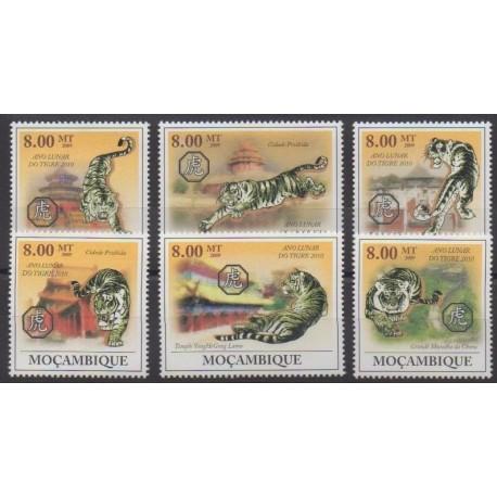 Mozambique - 2009 - No 2788/2793 - Horoscope