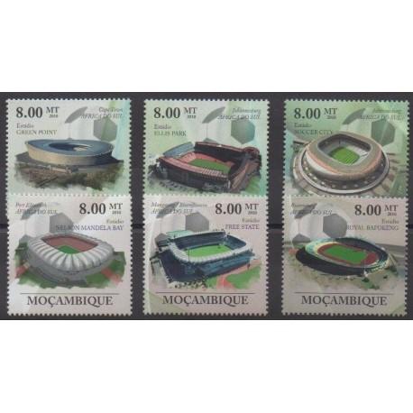 Mozambique - 2010 - No 2142/2147 - Coupe du monde de football