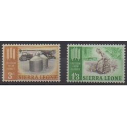 Sierra Leone - 1963 - Nb 226/227