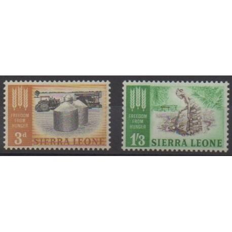Sierra Leone - 1963 - No 226/227