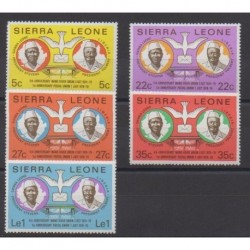 Sierra Leone - 1979 - No 418/422 - Service postal