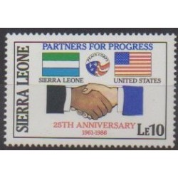 Sierra Leone - 1986 - No 734 - Histoire