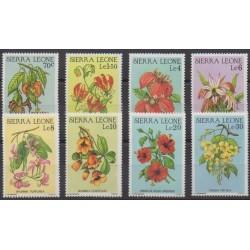 Sierra Leone - 1986 - Nb 726/733 - Flowers