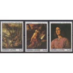 Sierra Leone - 1988 - No 911/913 - Peinture