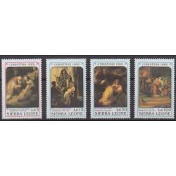 Sierra Leone - 1989 - No 1069/1072 - Noël