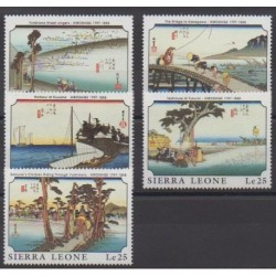 Sierra Leone - 1989 - Nb 1137/1141 - Paintings