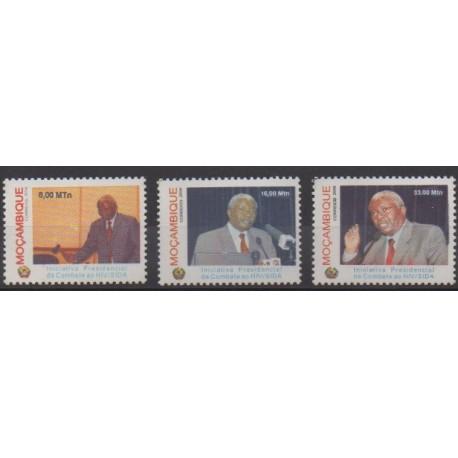 Mozambique - 2006 - No 2306/2308 - Santé ou Croix-Rouge