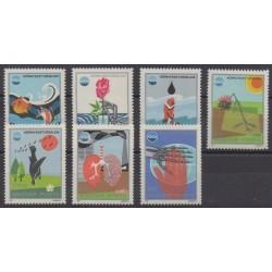 Hungary - 1975 - Nb 2453/2459 - Environment