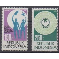 Indonésie - 1982 - No 948/949 - Environnement