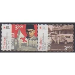 Indonésie - 2015 - No 2763/2764 - Santé ou Croix-Rouge