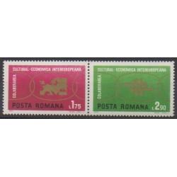 Roumanie - 1972 - No 2680/2681 - Europe