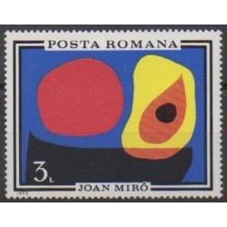 Romania - 1970 - Nb 2579 - Paintings