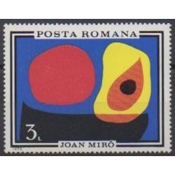 Roumanie - 1970 - No 2579 - Peinture