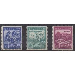 Roumanie - 1955 - No 1400/1402
