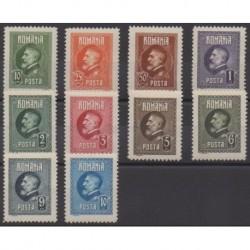 Romania - 1926 - Nb 309/318